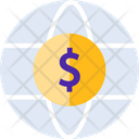 Global Currencyv Global Currency International Money Icon