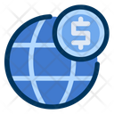 Global Currency Economy Icon