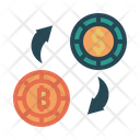 Global Currency Bitcoin Currency Global Icon