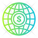 Currency Finance Global Icon