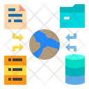 Data Network Storage Icon