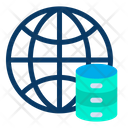 Global Database World Icon