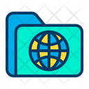 Global Globe Data Icon