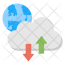 Global Data Processing Icon