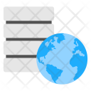 Global Database Worldwide Icon