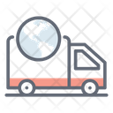 Global Delivery Worldwide Logistic International Delivery Icon