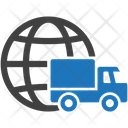 Global Delivery Shipping Icon