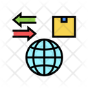 World Import Export Icon