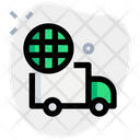 Global Delivery Truck Box Truck Icon