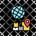 Global Logistics Logistics International Icon