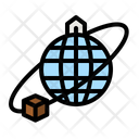 Global Delivery International Delivery Worldwide Delivery Icon