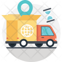 Delivery Truck Global Icon