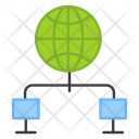 Global Devices Global Network Global Connections Icon