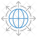 Global Direction Arrow Icon