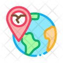 Ertnkuake Geolocation Disaster Icon