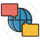 Global discussion Icon