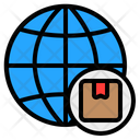 Global Distribution Distribution Delivery Icon
