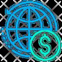 Global Dollar Icon