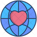 Global Donation Charity Icon