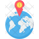 Global Earnings Icon