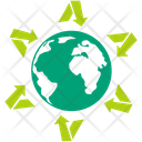Global Ecology Global Nature Global Environment Icon