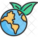 Global Green Concept Icon