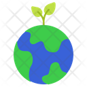 Growth World Earth Icon