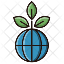 Global Ecology Environment Icon