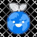 Earth Nature Happy Icon