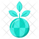 Global Plant Nature Icon