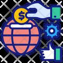 Global Economics Investment Economics Icon