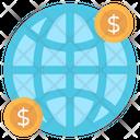 Global Economy Global Money Global Currency Icon