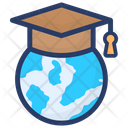 Global Degree Global Education Global Learning Icon