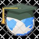 Global Education Worldwide Education Global Learning Icon