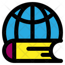 Global Education Online Education Global Learning Icon