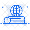 Global Education Worldwide Education International Education Icon
