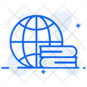 Global Education Worldwide Education Global Learning Icon