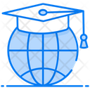 Global Education Worldwide Education Overseas Education Icon
