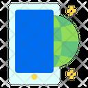 Smartphone Globe Global Icon