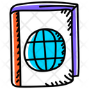 Global Learning Global Education Global Knowledge Icon
