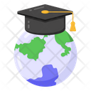 Global Education Distance Education Distance Learning Icon