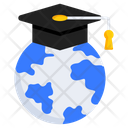 Global Education International Education Distance Education Icon