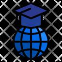 Global Education Online Education Education Icon