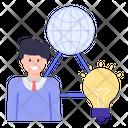 Global Education Idea Icon