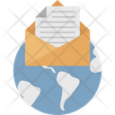 Email Global Correspondence Global Email Icon
