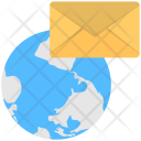Global Email Cyber Icon