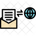Global Email Conection Icon