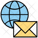 Global Email Communication Icon