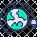 Energy Global Power Icon
