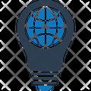 Bright Globe Idea Icon